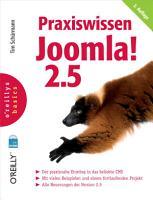 Praxiswissen Joomla  2 5  O Reillys Basics  PDF