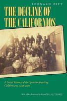 Decline of the Californios PDF