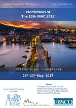 Proceedings of The 10th MAC 2017