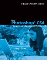 Adobe Photoshop CS4  Comprehensive Concepts and Techniques PDF