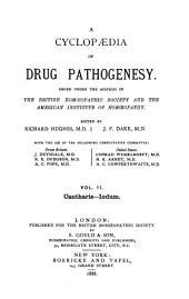A Cyclopaedia of Drug Pathogenesy: Volume 2