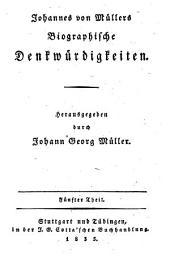 Sämmtliche Werke: Biographische Denkwürdigkeiten ; T. 5. 33
