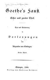 Goethe's Faust: Volumes 1-2