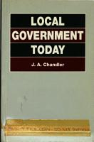 Local Government Today PDF