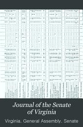 Journals of the Senate of Virginia