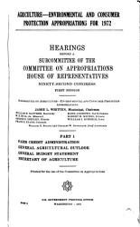 Hearings  Reports and Prints of the House Committee on Appropriations PDF