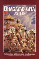 Bhagaved-Gita As It Is