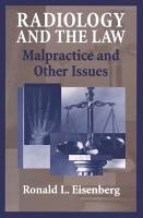 Radiology and the Law PDF