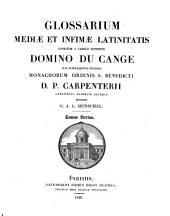 Glossarium mediae at infimae latinitatis
