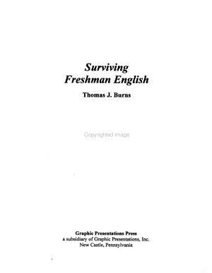 Surviving Freshman English