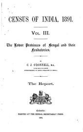 Census of India, 1891: Volume 3
