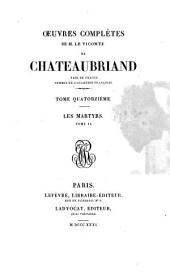 œuvres complètes de m. le vicomte de Chateaubriand