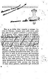 Due frammenti storici della rivoluzione di Palermo del 1848