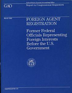 Foreign Agent Registration