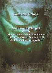 Function Und Begriff