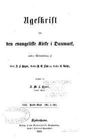 Ugeskrift for den evangeliske kirke i Danmark: Bind 1