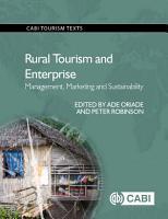 Rural Tourism and Enterprise PDF