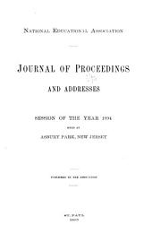 Addresses and Proceedings - National Education Association of the United States