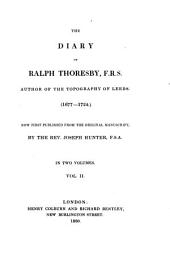 The Diary: (1677 - 1724) : in Two Volumes, Volume 2