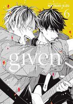 Given, Vol. 6 (Yaoi Manga)