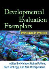 Developmental Evaluation Exemplars: Principles in Practice