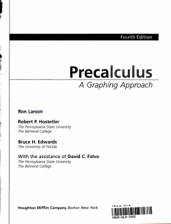 Pre calculus  Custom Publication PDF