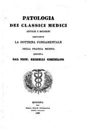 Patologia dei classici medici antichi e moderni (etc.)