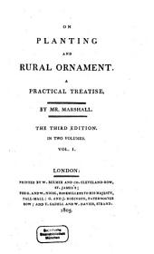 On Planting and Rural Ornament: A Practical Treatise, Volume 1