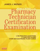 Mosby s Review for the Pharmacy Technician Certification Examination PDF