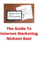 The Guide To Internet Marketing PDF