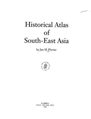 Historical Atlas of South-East Asia