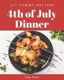 365 Yummy 4th of July Dinner Recipes PDF