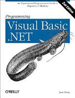 Programming Visual Basic  NET PDF