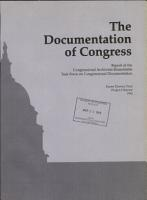 The Documentation of Congress PDF