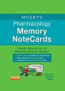 Mosby S Pharmacology Memory Notecards Book PDF