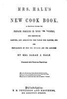 Mrs  Hale s New Cook Book PDF