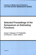 Selected Proceedings of the Symposium on Estimating Functions