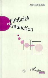 PUBLICITÉ ET TRADUCTION
