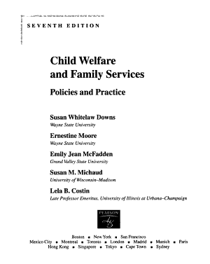 Child Welfare and Family Services PDF