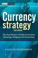 Currency Strategy PDF