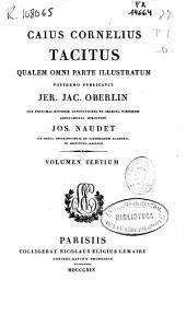 Caius Cornelius Tacitus qualem omni parte illustratum: Volume 3