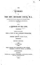 The Works of the Rev. Richard Cecil ...: With a Memoir of His Life, Volume 1
