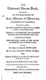 The Universal Dream Book