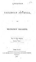 American Railroad Journal and Mechanics  Magazine PDF