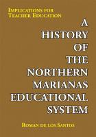 A History of the Northern Marianas Educational System PDF