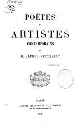 Poëtes et artistes contemporains