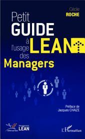 Petit guide Lean à l'usage des managers