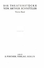 (Die erzählende Schriften), Bd. 1. Sterben ; Blumen ; Ein Abschied ; Die Frau des Weisen ; Der Ehrentag ; Die Toten schweigen ; Andreas Thameyers letzter Brief ; Der Blinde Geronimo und sein Bruder ; Leutnant Gustl ; Die griechische Tänzerin