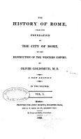 The History of Rome  from the Foundation of the City of Rome  to the Destruction of the Western Empire PDF