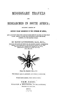 Missionary Travels and Researches in South Africa PDF